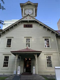 札幌 時計塔の写真・画像素材[2424885]