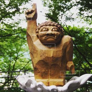 鬼怒川温泉近くの像の写真・画像素材[1810678]