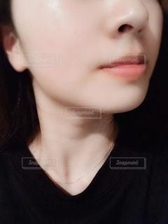 透明感のある肌の写真・画像素材[1872054]