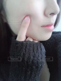 もちもち肌の写真・画像素材[1987221]