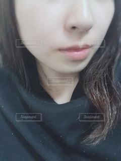 自撮りの写真・画像素材[2017595]