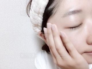 洗顔後の写真・画像素材[2060298]