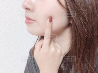 もちもち肌の写真・画像素材[2083661]