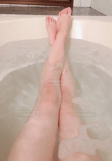 入浴の写真・画像素材[2104603]