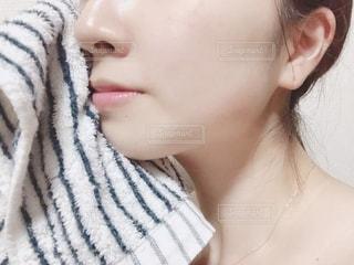 洗顔後の写真・画像素材[2156171]
