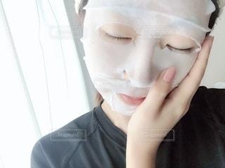フェイスマスクの写真・画像素材[2178752]