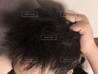 男性の髪の毛の写真・画像素材[2248027]
