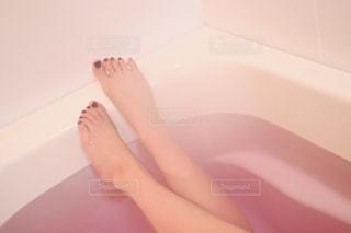 入浴シーンの写真・画像素材[2260983]