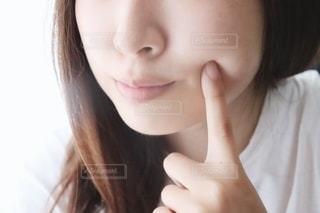 すっぴん肌の写真・画像素材[2276491]