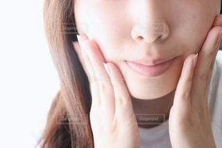すっぴん肌の写真・画像素材[2276499]