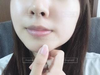 すっぴん肌の写真・画像素材[2276505]