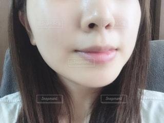すっぴん肌の写真・画像素材[2276506]