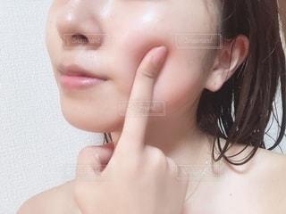 すっぴん肌の写真・画像素材[2277735]