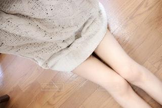 女性の自撮りの写真・画像素材[2707471]