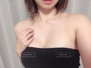 女性のバストの写真・画像素材[2738971]