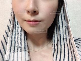 女性の自撮りの写真・画像素材[2739924]