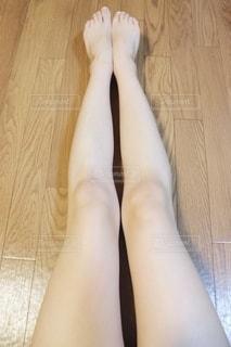 女性の足の写真・画像素材[2771918]