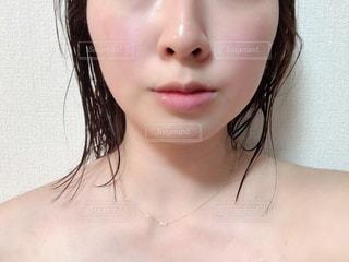黒髪の女性の写真・画像素材[2905266]