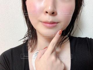 黒髪の女性の写真・画像素材[2905272]