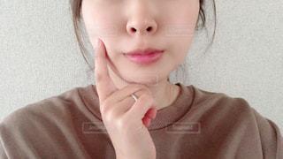 女の子のクローズアップの写真・画像素材[3136506]
