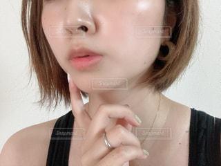 女性の肌の写真・画像素材[3391339]