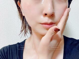 女性の顔の写真・画像素材[4268226]