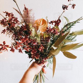 花瓶の花の花束の写真・画像素材[2140514]