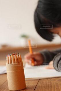 描くの写真・画像素材[1881530]