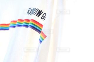 rainbow girlの写真・画像素材[2861034]