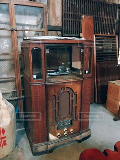 古いレコード機器の写真・画像素材[1847172]