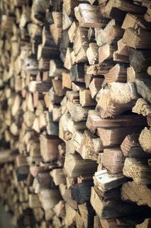 薪詰みの写真・画像素材[1820395]