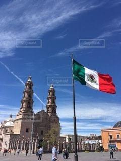 グアダラハラの広場の写真・画像素材[3496245]