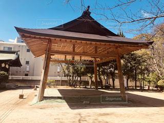 神社の土俵の写真・画像素材[1842453]