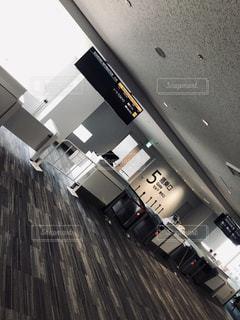 福岡空港の搭乗口の写真・画像素材[1851865]