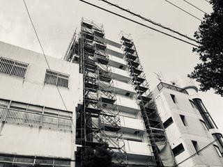 工事中のビルの写真・画像素材[1855588]