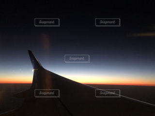 夕暮れの空の写真・画像素材[2049017]