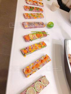 野菜のお寿司の写真・画像素材[2795561]