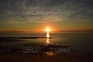 モザンビーク島の初日の出の写真・画像素材[1818095]