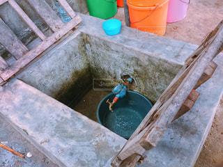 モザンビーク人の水道施設の写真・画像素材[1819077]