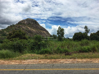 モザンビークの岩山の写真・画像素材[1821972]
