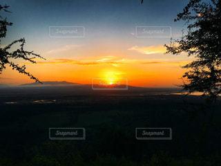 タンザニアの朝日の写真・画像素材[1824978]