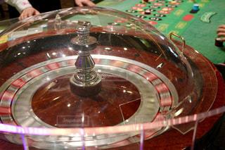 カジノのルーレットの写真・画像素材[1832102]
