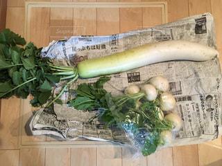 立派な野菜の写真・画像素材[2079342]