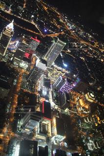 夜の都市の写真・画像素材[2447141]