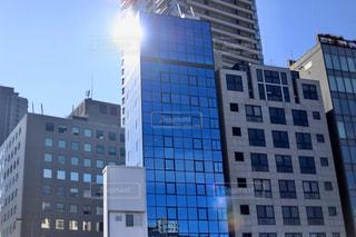 都会の高い建物の写真・画像素材[2836299]