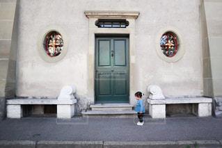 海外のおしゃれな入り口の写真・画像素材[2999112]