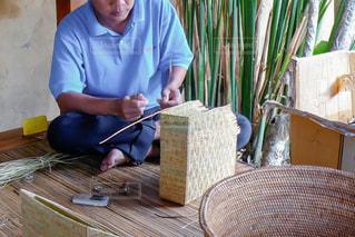 バリの伝統工芸の写真・画像素材[3169123]