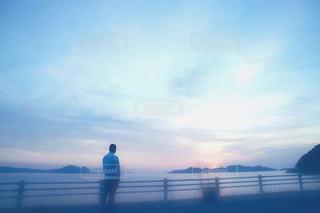夕日の写真・画像素材[1026744]