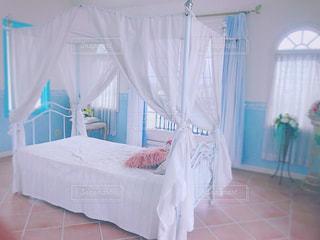 かわいい寝室の写真・画像素材[2278975]