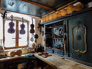 ミッテンヴァルトのヴァイオリン博物館にての写真・画像素材[1870023]